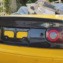Low Ducktail Trunk Spoiler