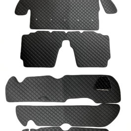 Interior Quilted Set (7 Pieces Kit + Door Cards) For Miata NA/Mk1