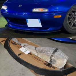 Front Splitter (for RS lip) For Miata NA/Mk1