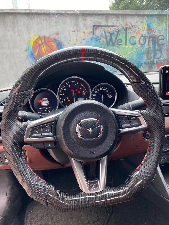 New Mazda Miata >> Carbon Fiber Steering Wheel (Miata ND 2016+) - The ...