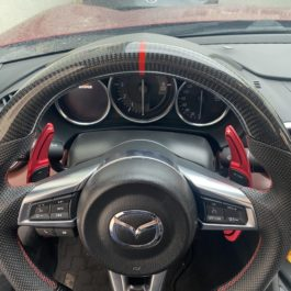 Carbon Fiber Steering Wheel (Miata ND 2016+)