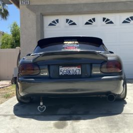 Trunk With Aggressive Ducktail (Type 2) For Miata NB/Mk2