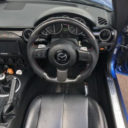 Carbon Fiber Steering Wheel For Miata NC/Mk3
