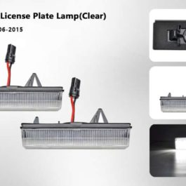 LED License Plate Lights for Miata NC/Mk3