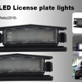 LED License Plate Lights for Miata ND/Mk4