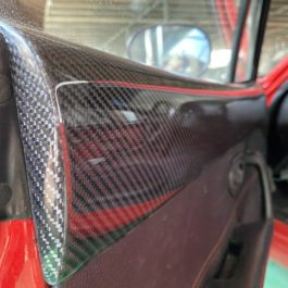 Carbon Fiber Top Door Pads For Miata NA/Mk1