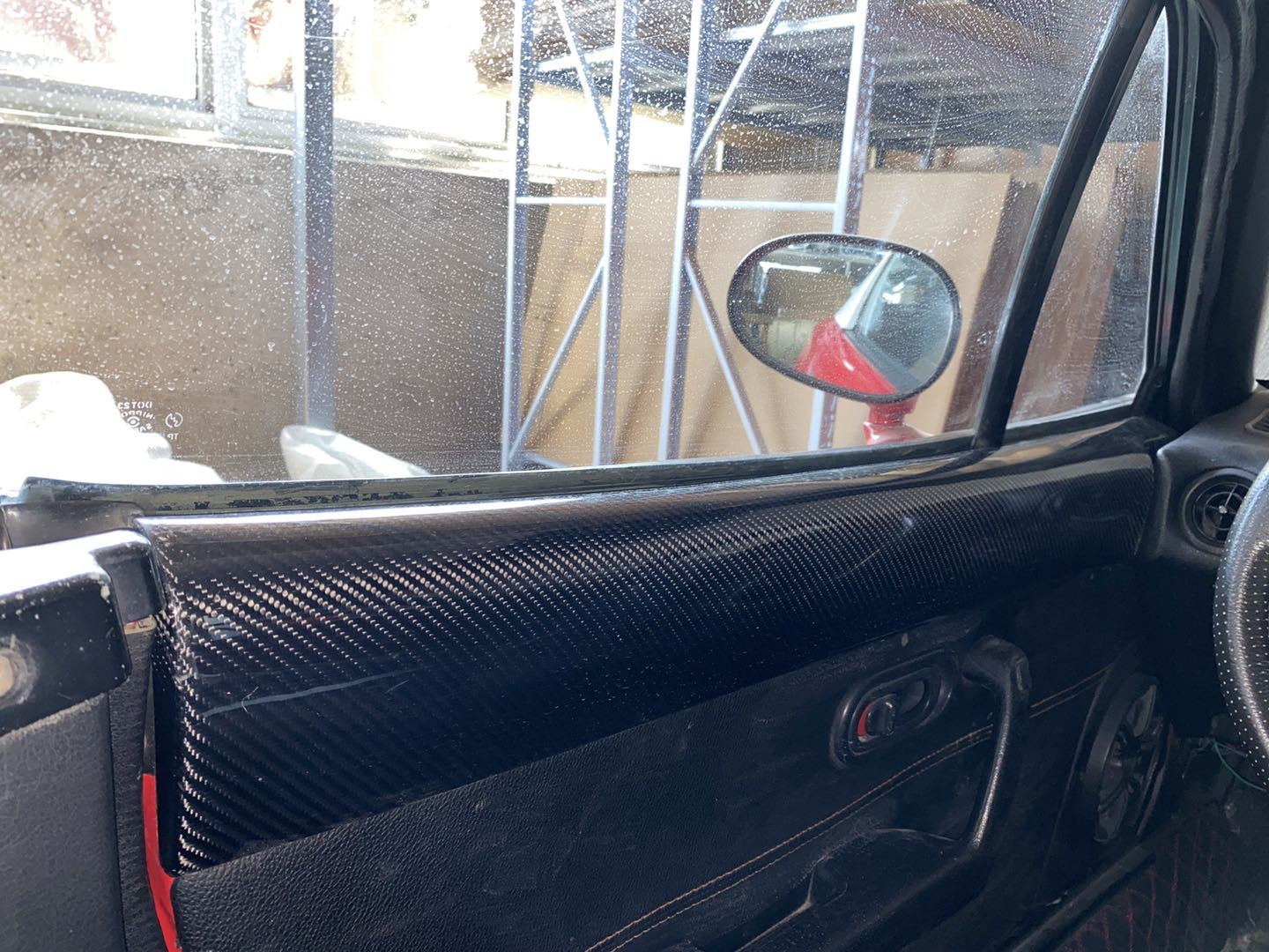 Carbon Fiber Top Door Pads For Miata Na Mk1 The Ultimate Resource For Mazda Miata Parts