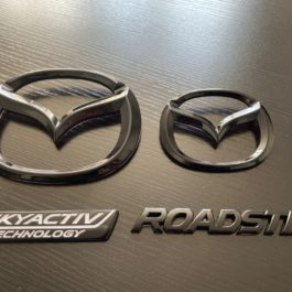 Glossy Black 4 Pieces Mazda Emblems Set For Miata ND/Mk4